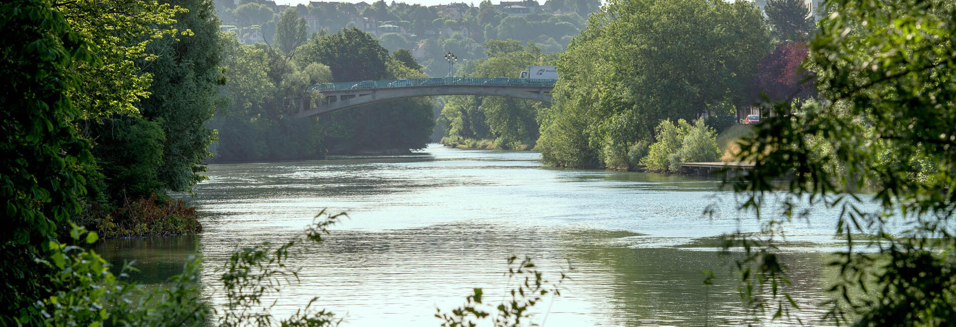 Vue de la Marne à Champigny